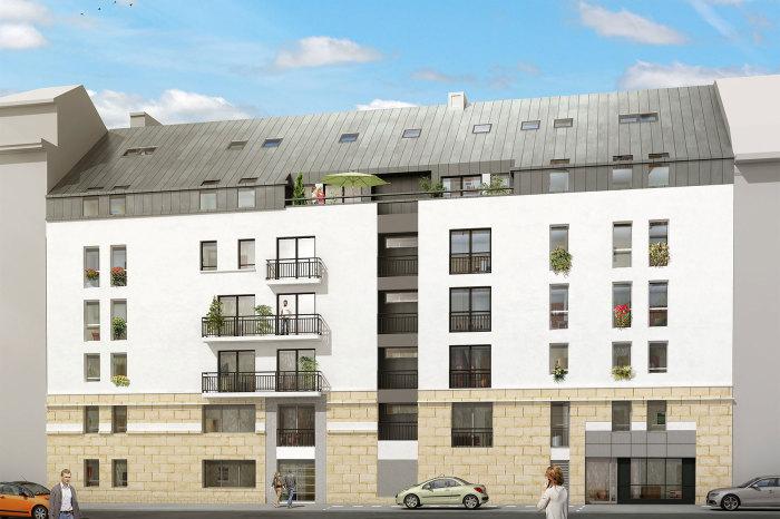 Appartements neufs Hauts pavés Saint-Félix référence 5095 : aperçu n°0