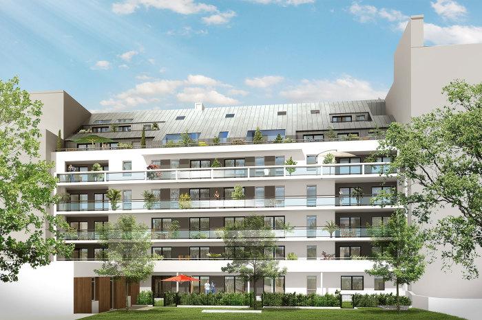 Appartements neufs Hauts pavés Saint-Félix référence 5095 : aperçu n°2