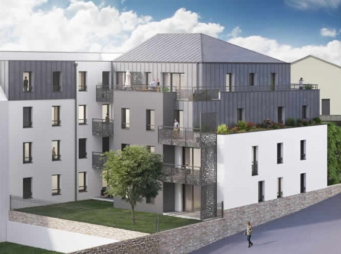 Appartements neufs Saint-Herblain référence 5140 : aperçu n°2