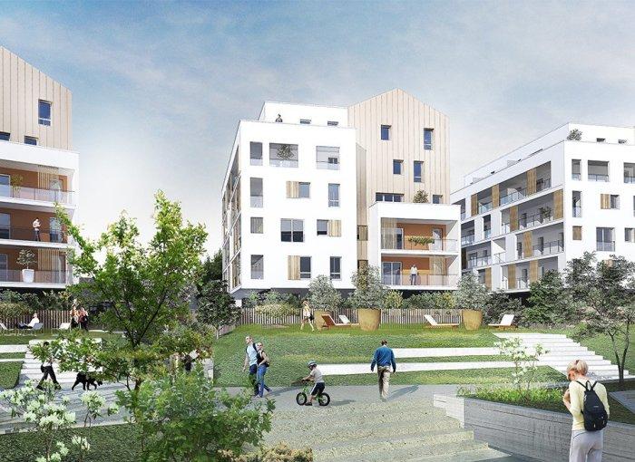 Appartements neufs Saint-Nazaire référence 5564 : aperçu n°0