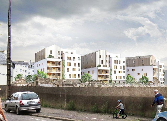 Appartements neufs Saint-Nazaire référence 5564 : aperçu n°3