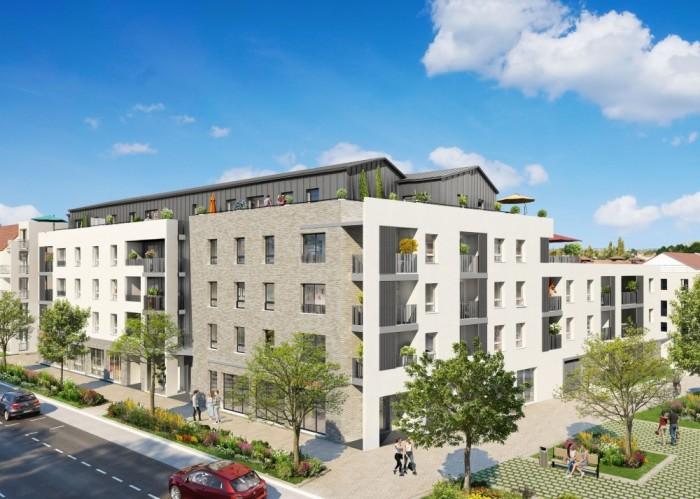 Appartements neufs Saint-Sébastien-sur-Loire référence 5143 : aperçu n°4