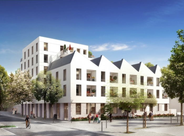 Appartements neufs Île de Nantes référence 5177 : aperçu n°0