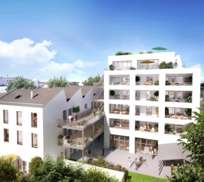Appartements neufs Île de Nantes référence 5177 : aperçu n°3