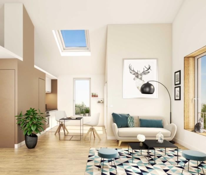 Appartements neufs Île de Nantes référence 5177 : aperçu n°1