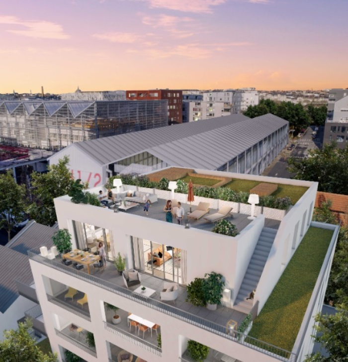 Appartements neufs Île de Nantes référence 5177 : aperçu n°2
