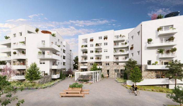 Appartements neufs Saint-Sébastien-sur-Loire référence 5178 : aperçu n°0