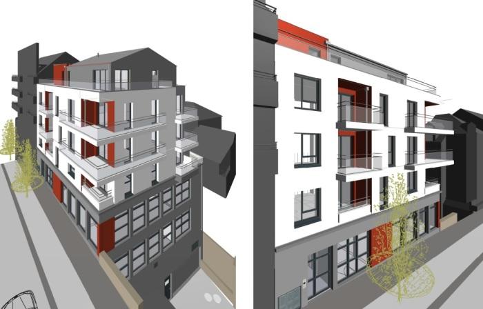 Appartements neufs Hauts pavés Saint-Félix référence 5218 : aperçu n°3