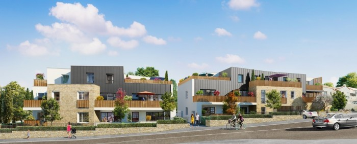 Appartements neufs Saint-Herblain référence 5238 : aperçu n°0