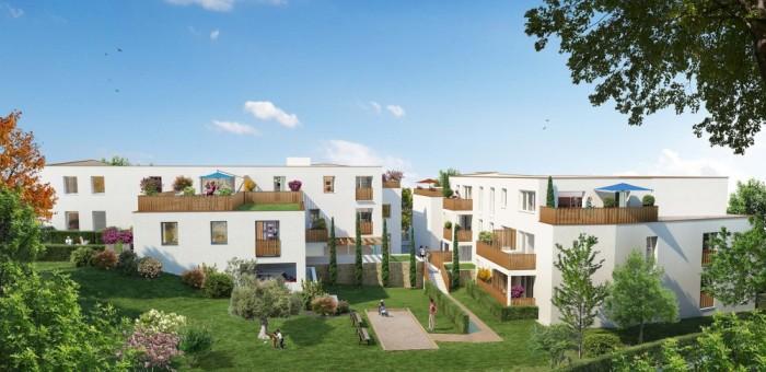 Appartements neufs Saint-Herblain référence 5238 : aperçu n°2