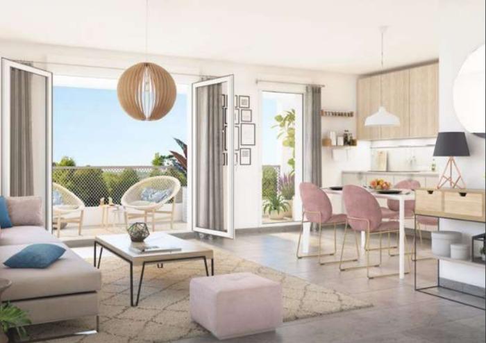 Appartements neufs Haute-Goulaine référence 5322 : aperçu n°1