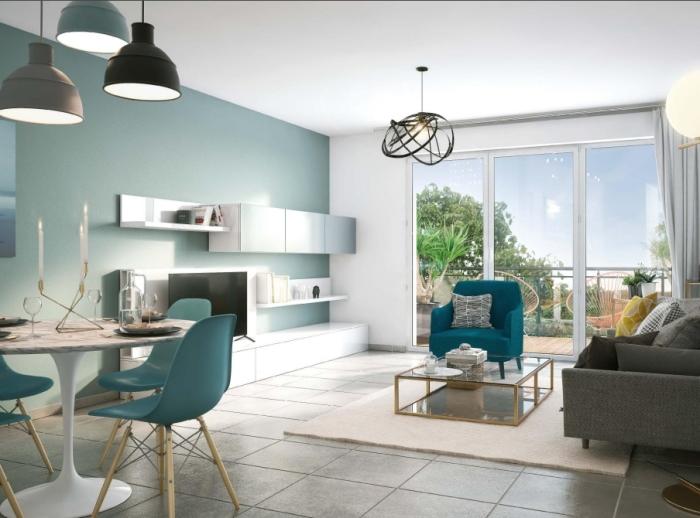Appartements neufs Saint-Herblain référence 4889 : aperçu n°3