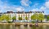 Vue sur des logements en centre-ville de Nantes depuis l'Erdre