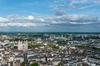 Investir à Nantes - Vue aérienne sur la ville de Nantes et sa cathédrale