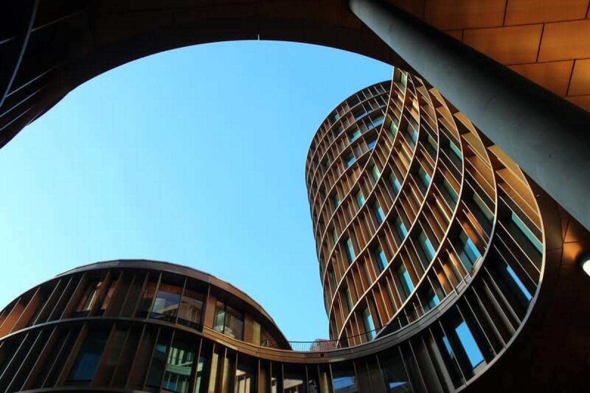 design architecture immeuble 3D