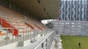 La tribune du Stade Marcel Saupin