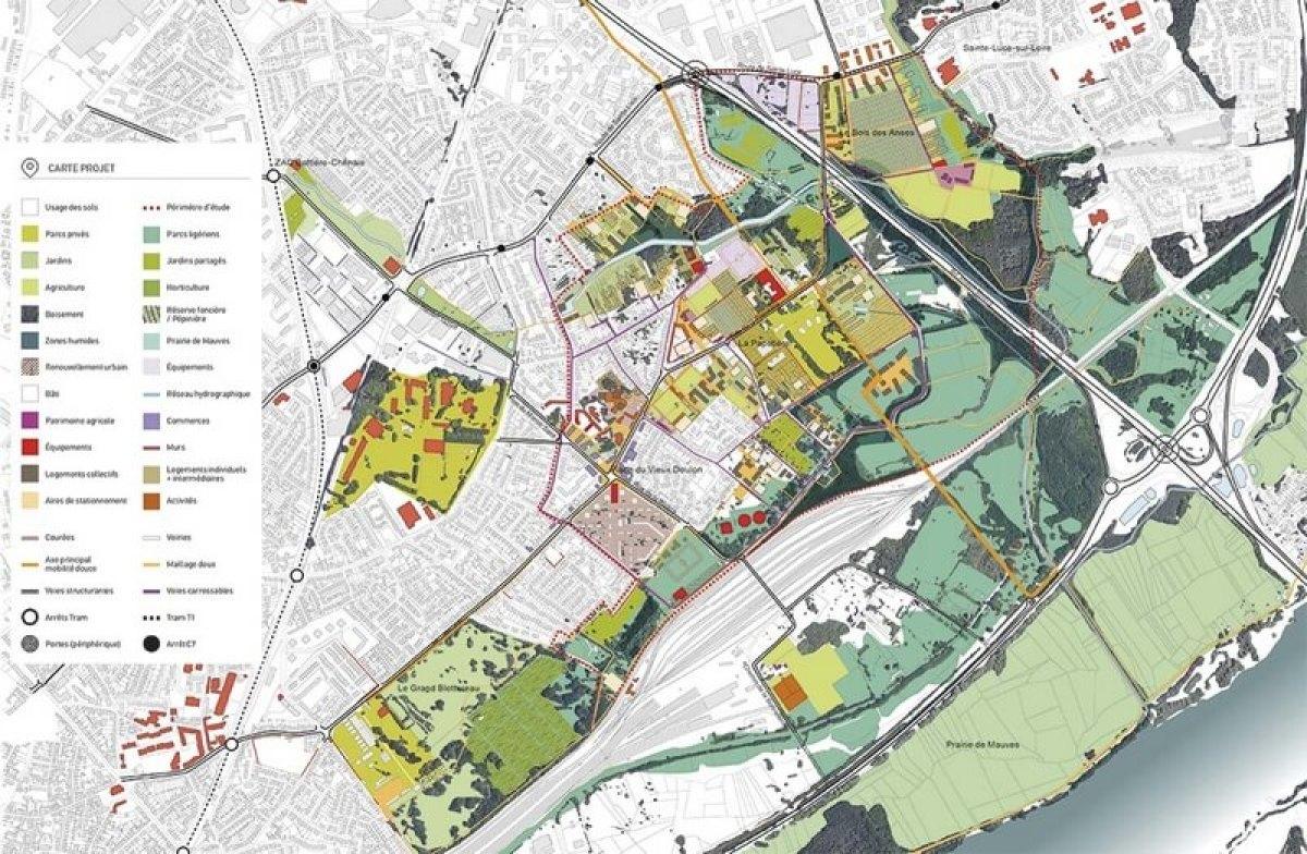 Plan d'aménagement de Doulon-Gohards