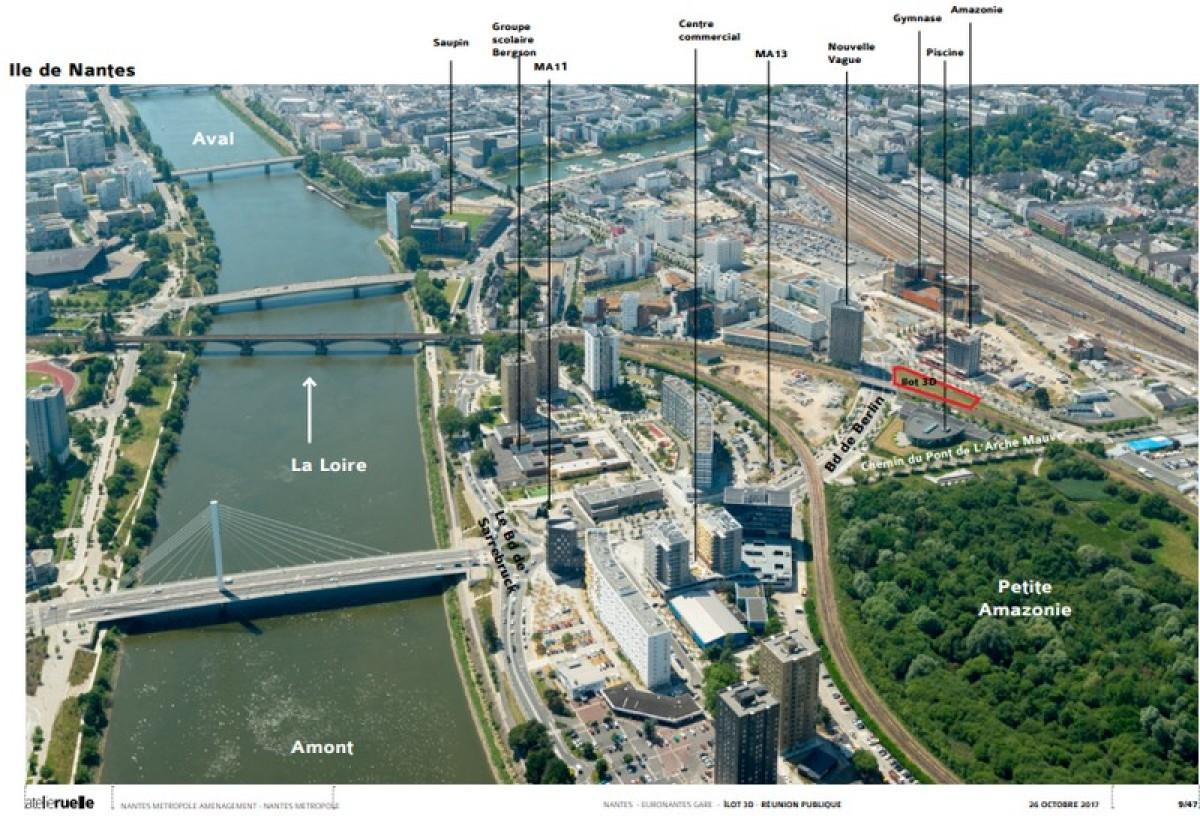 Plan du secteur d'aménagement