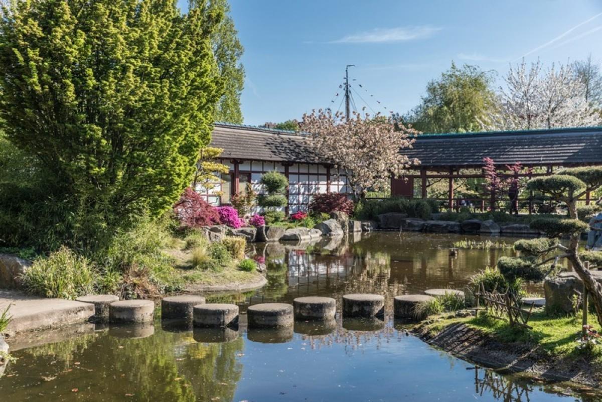 Le jardin japonais à Nantes