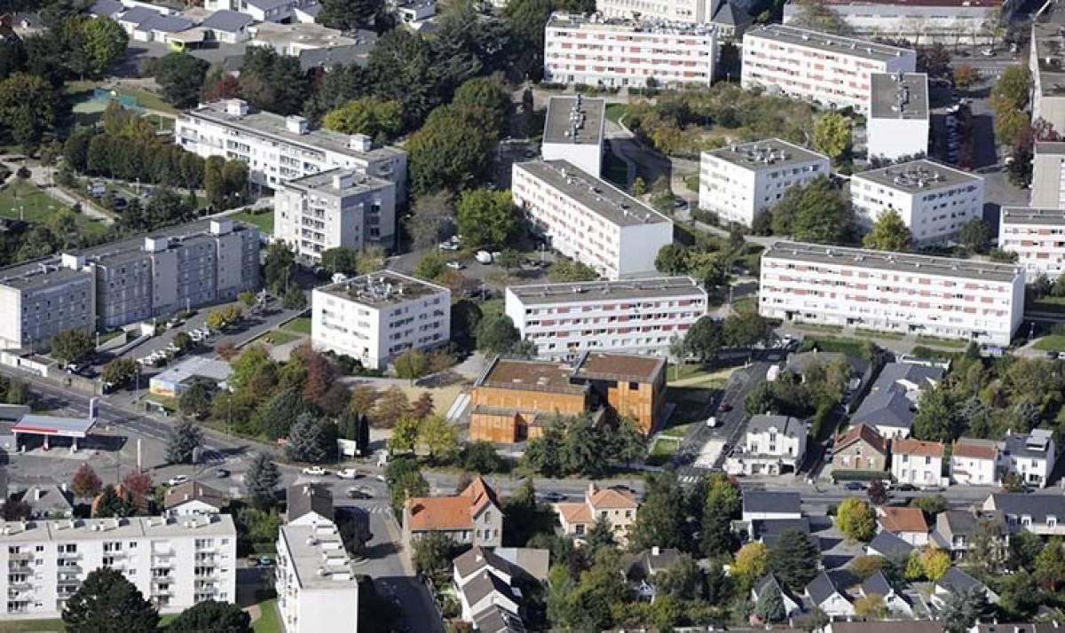 Le quartier de la Bottière Pin-Sec