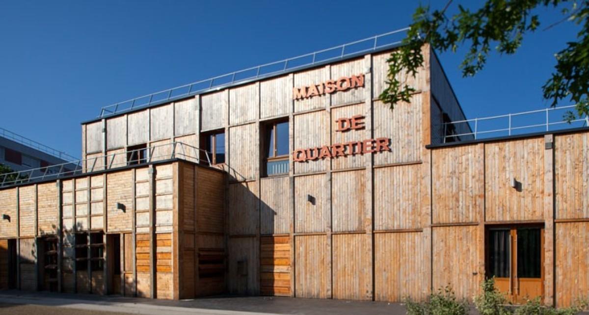 La maison de quartier de Bottière Pin-Sec