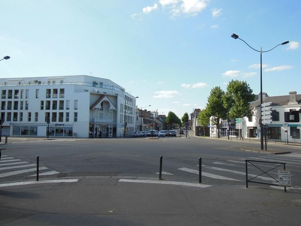 La place Emile Zola