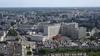 Vue aérienne sur l'Hôtel Dieu à Nantes