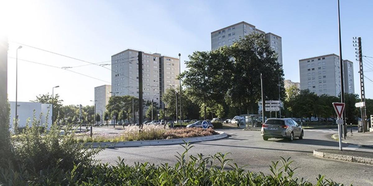 Nantes, une place des quartiers Nord