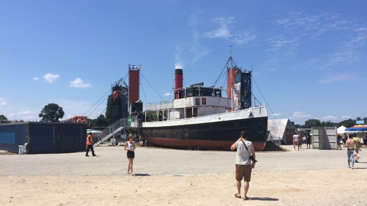 bateau transfert