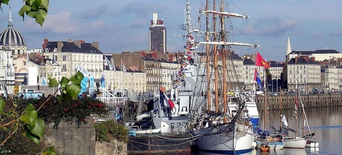 Histoire de Nantes - Le port de Nantes