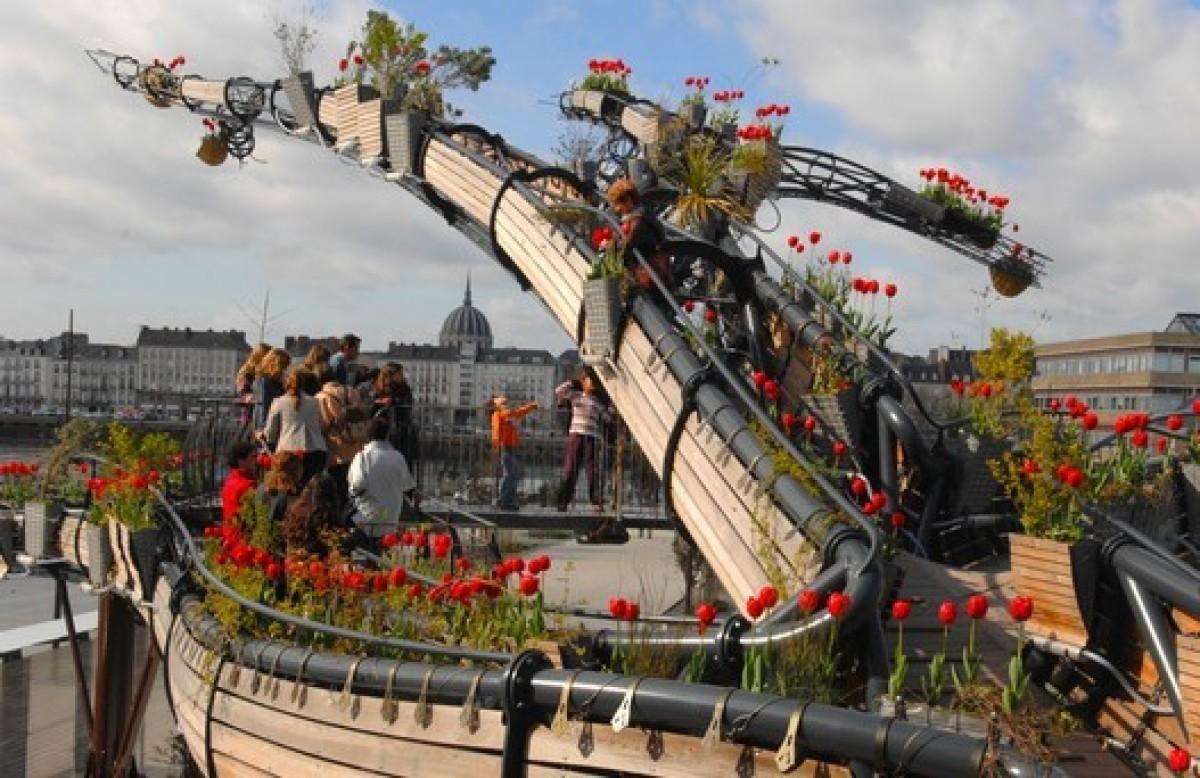 Histoire de Nantes - L'arbre aux hérons