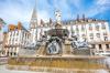 Place Royale à Nantes et sa fontaine