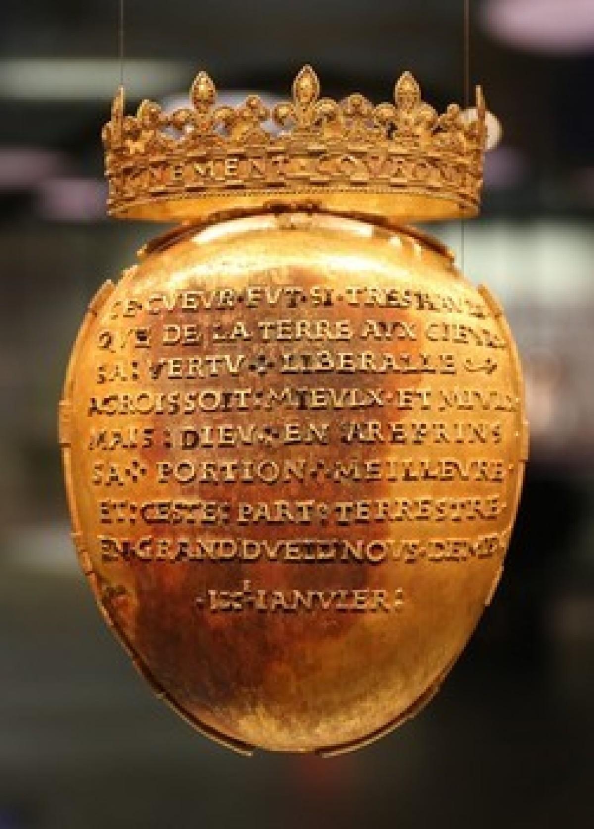personnalités Nantes - Le coeur de Anne de Bretagne