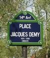 personnalités Nantes - Place Jacques Demy à Paris