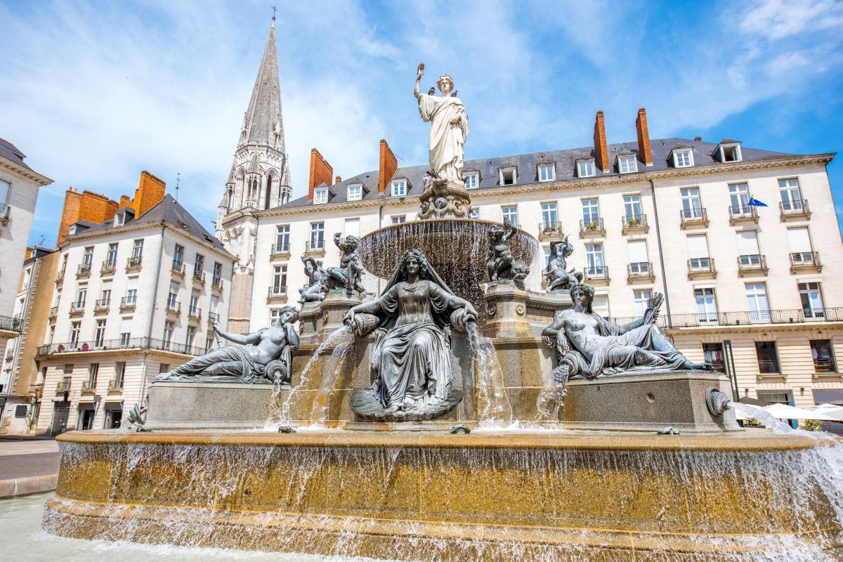 urbanisme et architecture à Nantes - La place Royale à Nantes