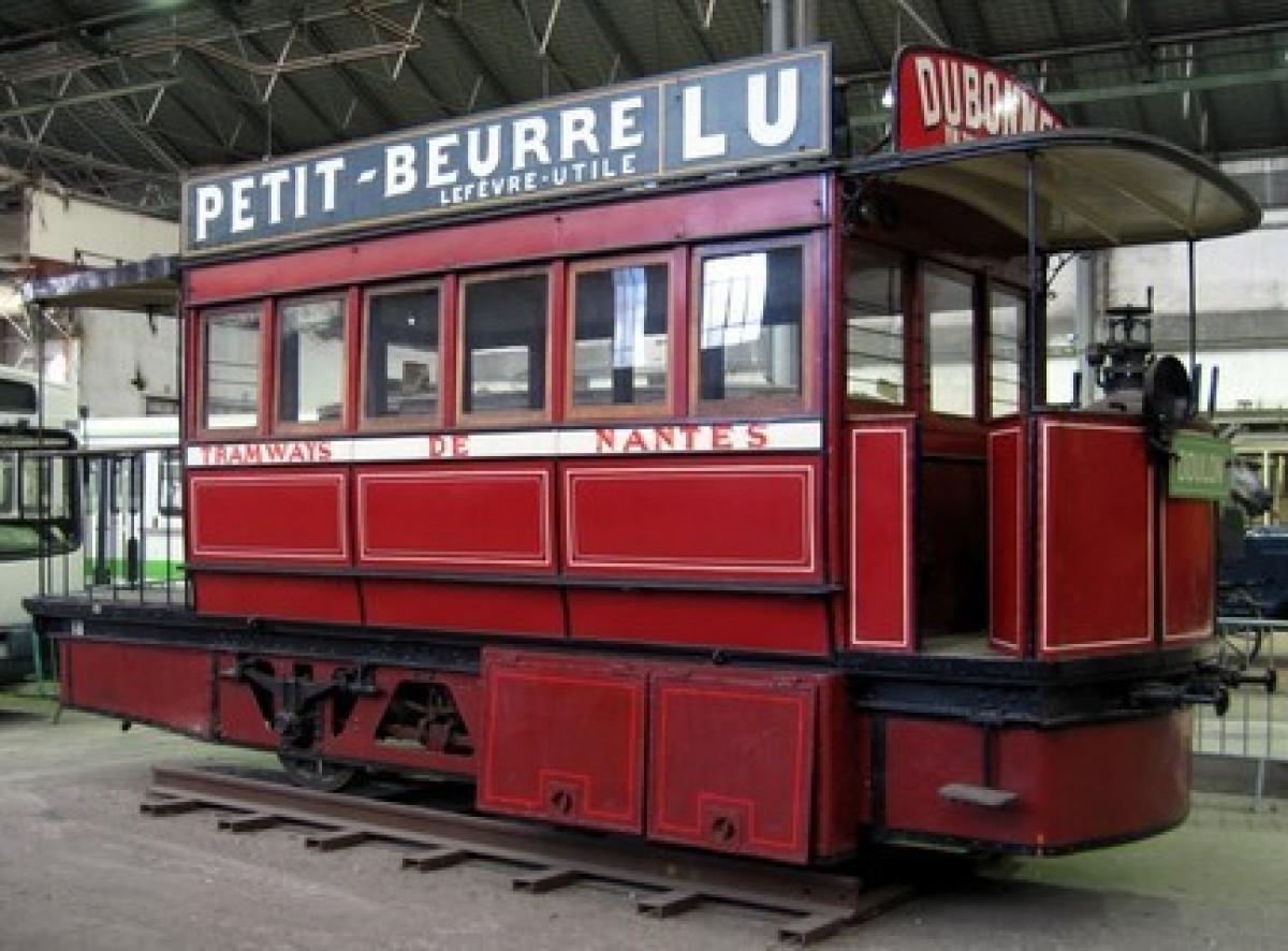 urbanisme et architecture à Nantes - Ancien tramway nantais