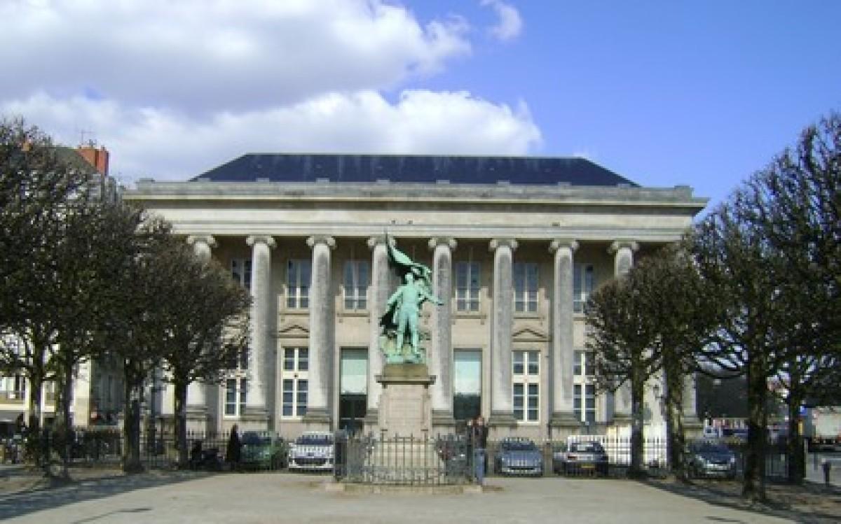 urbanisme et architecture à Nantes - Le palais de la Bourse