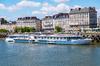Un bateau de croisière sur la Loire à Nantes
