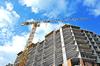 Production de logement à Nantes - Un chantier de construction de logements