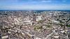 Projets urbains à Nantes - Vue aérienne de la ville de Nantes et de la Tour de Bretagne