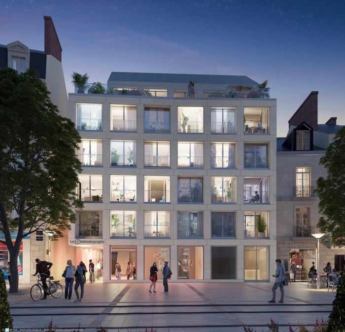 Appartements neufs Centre-ville référence 5556 : aperçu n°2