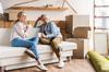 location appartement Nantes - un couple emménageant dans un logement neuf