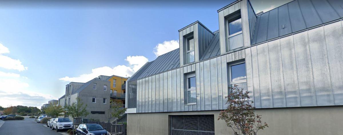 Immobilier neuf à Les Sorinières - Vue sur une maison moderne à Les Sorinières