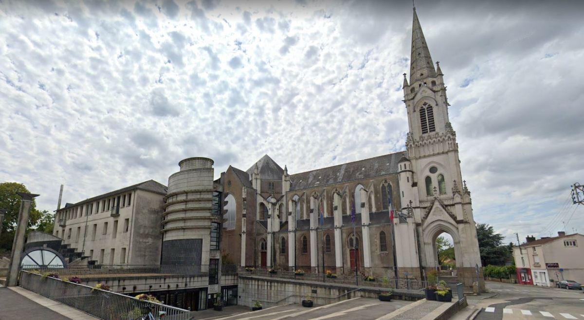 Immobilier neuf à Rezé - vue sur l'église de Rezé