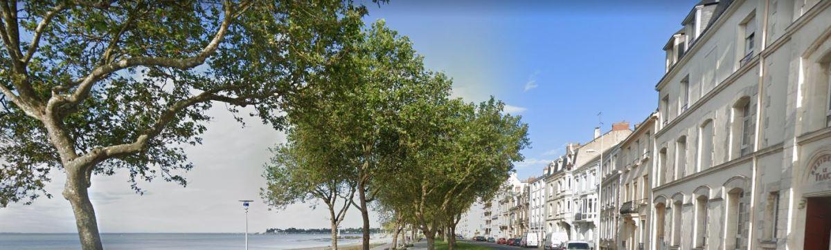 Immobilier neuf à Saint-Nazaire - vue sur la grande plage de Saint-Nazaire