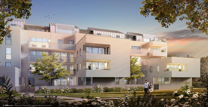Appartements neufs Hauts pavés Saint-Félix référence 5566 : aperçu n°0