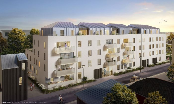 Appartements neufs Hauts pavés Saint-Félix référence 5566 : aperçu n°2