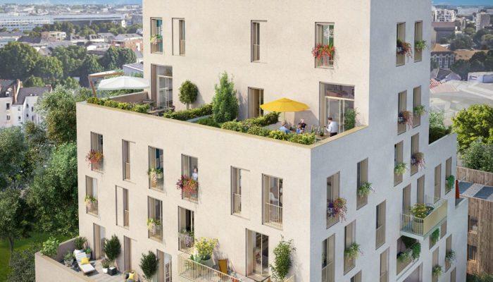 Appartements neufs Île de Nantes référence 5569 : aperçu n°0