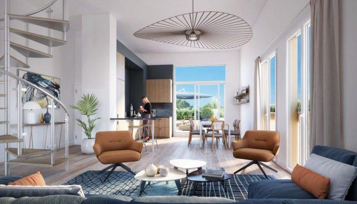 Appartements neufs Île de Nantes référence 5569 : aperçu n°1