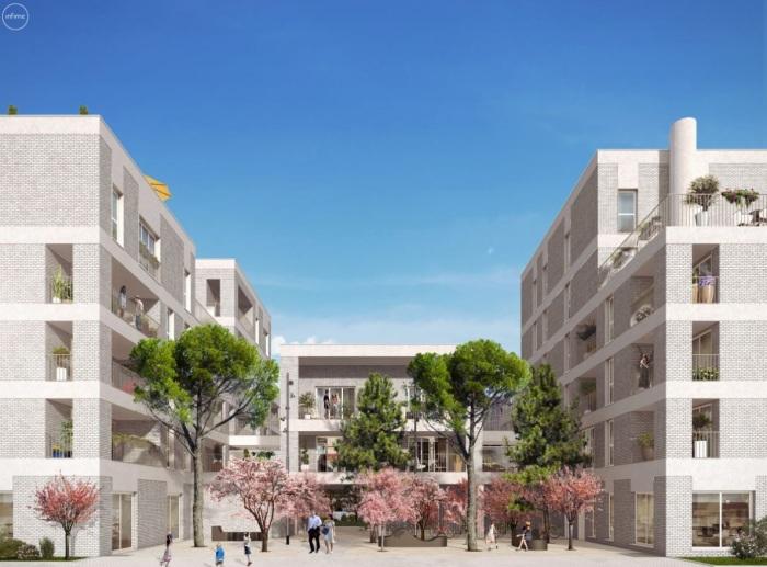 Appartements neufs Île de Nantes référence 5571 : aperçu n°0